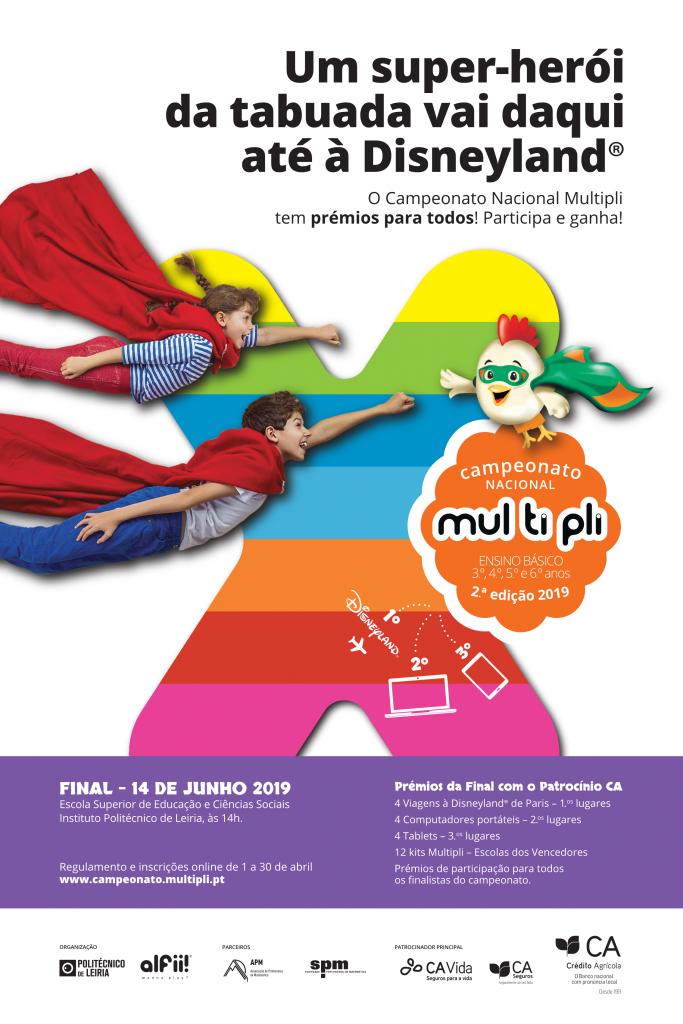 Cartaz Campeonato Nacional Multipli - 2.ª Edição